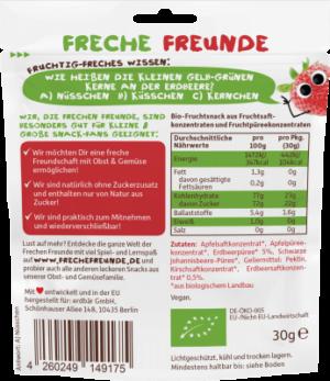 Freche Freunde GYÜMÖLCSGUMI Eper 98% gyümölcsből 30 g