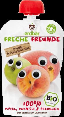 Freche Freunde Alma, mangó & barack BIO gyümölcspüré 100 g