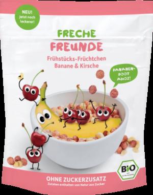 Freche Freunde Banán & cseresznye müzli 125g