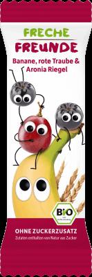 Freche Freunde Banán, vörös szőlő & arónia zabszelet  4 db/csomag 4×23 g