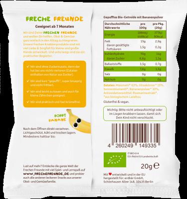 Freche Freunde BIO Tönköny sárgarépa pálcikák csökkentett sótartalommal 75 g