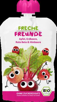 Freche Freunde Alma, eper, cékla BIO gyümölcspüré 100 g